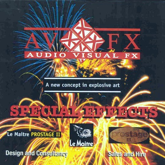Audio Visual FX Special Effects - A new concept in explosive arts